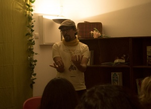 Storytelling performance in Lisbon